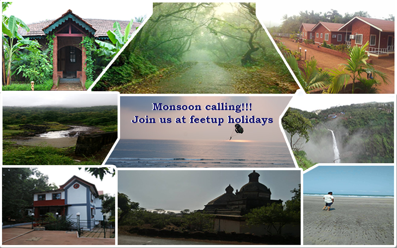 MONSOON CALLING ! Unwind & Explore with Feet-up Holidays