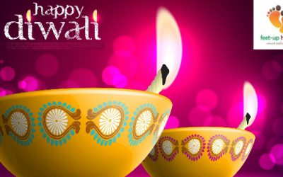 """""""Feet-up Holidays"""" wishes you a very happy & prosperous Diwali..!!!!"""