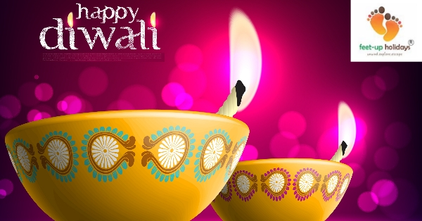 """Feet-up Holidays"" wishes you a very happy & prosperous Diwali..!!!!"