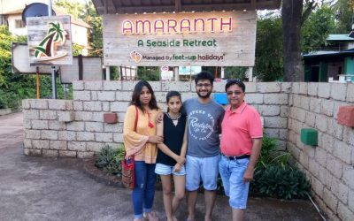 Review by Mr. Nitin Gujrathi (Stayed at Amaranth Resort, Murud, Konkan